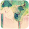 超可爱手绘图标水粉风格生如夏花手机主题